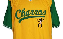 Kenny Powers #55 Charros Eastbound And Down Tv Baseball Jersey Yellow Any Size image 4