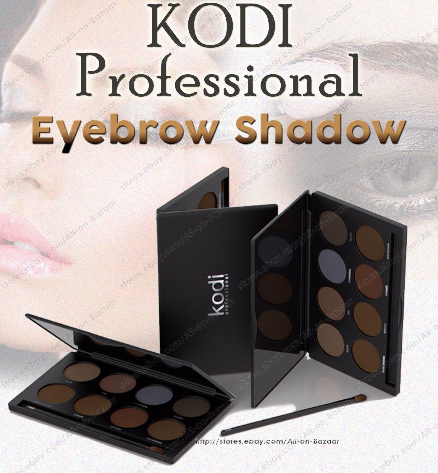 Kodi professinal Eyeshadow Eye Shadow Palette & Makeup Cosmetic Brush Set - $138.00