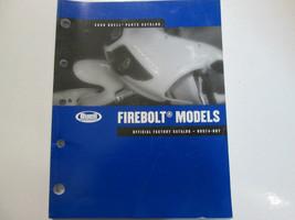 2006 Buell Firebolt Models Parts Catalog Manual FACTORY OEM BOOK USED 06 - $36.99