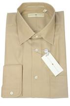 NWT Joseph Abboud Mens Brown/Beige Herringbone Button Front Dress Shirt ... - €72,15 EUR