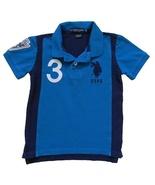 U.S. Polo Assn. Size (XXS) 4 Boys Blue Polo Top - $3.99