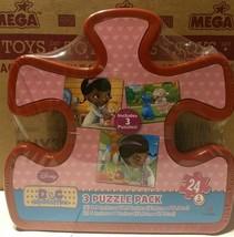 """Doc McStuffins Disney Puzzle Pack 2- 9.1"""" X 10.3"""" 1- 5"""" X 7"""" - $9.89"""