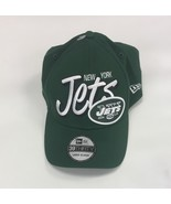 NWT New York Jets New Era 39Thirty Green Size L/XL End Around Flex-Fit H... - $15.11