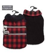 Dog Thermal Plaid Blanket Coat Jacket Reversible Winter Zack & Zoey Pet ... - $34.99+