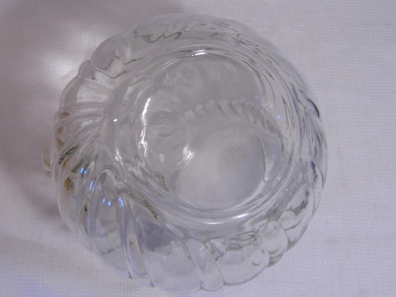 Clear Depression Glass Pitcher