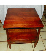 Solid Cherry Mid Century End Table / Side Table... - $399.00