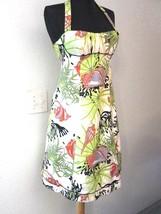 Nanette Lepore Dress Sz. 4 Removable Halter or Strapless Floral Print #1031 - $67.45 CAD