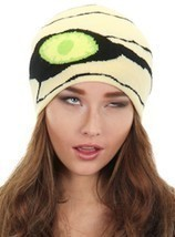 Elope Mummy Beanie Knit Hat HALLOWEEN Costume Cosplay Adult Child NEW 29... - $11.26