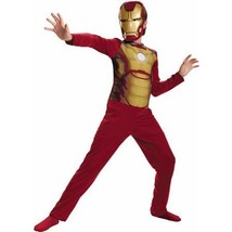 Iron Man Mark 42 Child Halloween Costume NEW Small (S) Age 6 BOY With Mask - $23.33