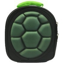 Teenage Mutant Ninja Turtles Shell Lunch Bag TMNT Black New - $17.75