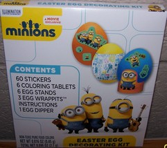 Despicable Me Minions Easter Egg Decorating Kit NEW  60 stickers - £6.48 GBP