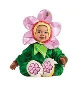 PINK PANSY BABY HALLOWEEN COSTUME NEW Toddler 12-18 MONTHS - £17.21 GBP