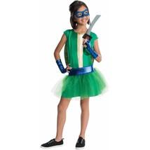 TMNT Teenage Mutant Ninja Turtles Halloween Fancy Dress Tutu Costume Leo... - $34.99