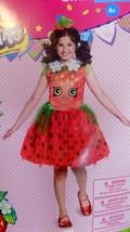 Shopkins Girls Halloween Costume STRAWBERRY KISS Tutu Dress Headband Sma... - $42.03