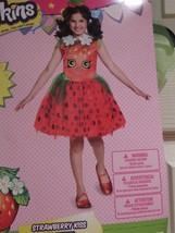 Shopkins Girls Halloween Costume STRAWBERRY KISS Tutu Dress Headband Med... - $42.03
