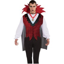 Vampire Adult Halloween Costume Mens M Medium NEW - $21.39