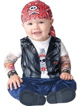 Born to be Wild Baby Biker Costume Halloween 12-18 months 2T - $28.99