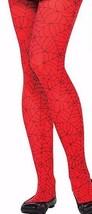 Child/ Teen Spider Girl Spider-man tights One Size Nylon Stockings Hallo... - $14.95