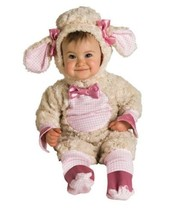 Rubies Lucky Lil Lamb Romper Infant Halloween Costume 0-6 months & 6-12 ... - $49.77 CAD