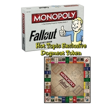 MONOPOLY Fallout Collector's Edition - Hot Topic Exclusive Dogmeat Token  - $54.95