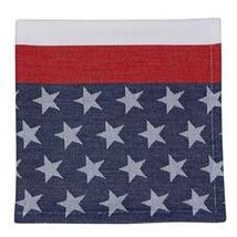 American Flag Stripe Jacquard Napkin NEW Patrio... - $7.69