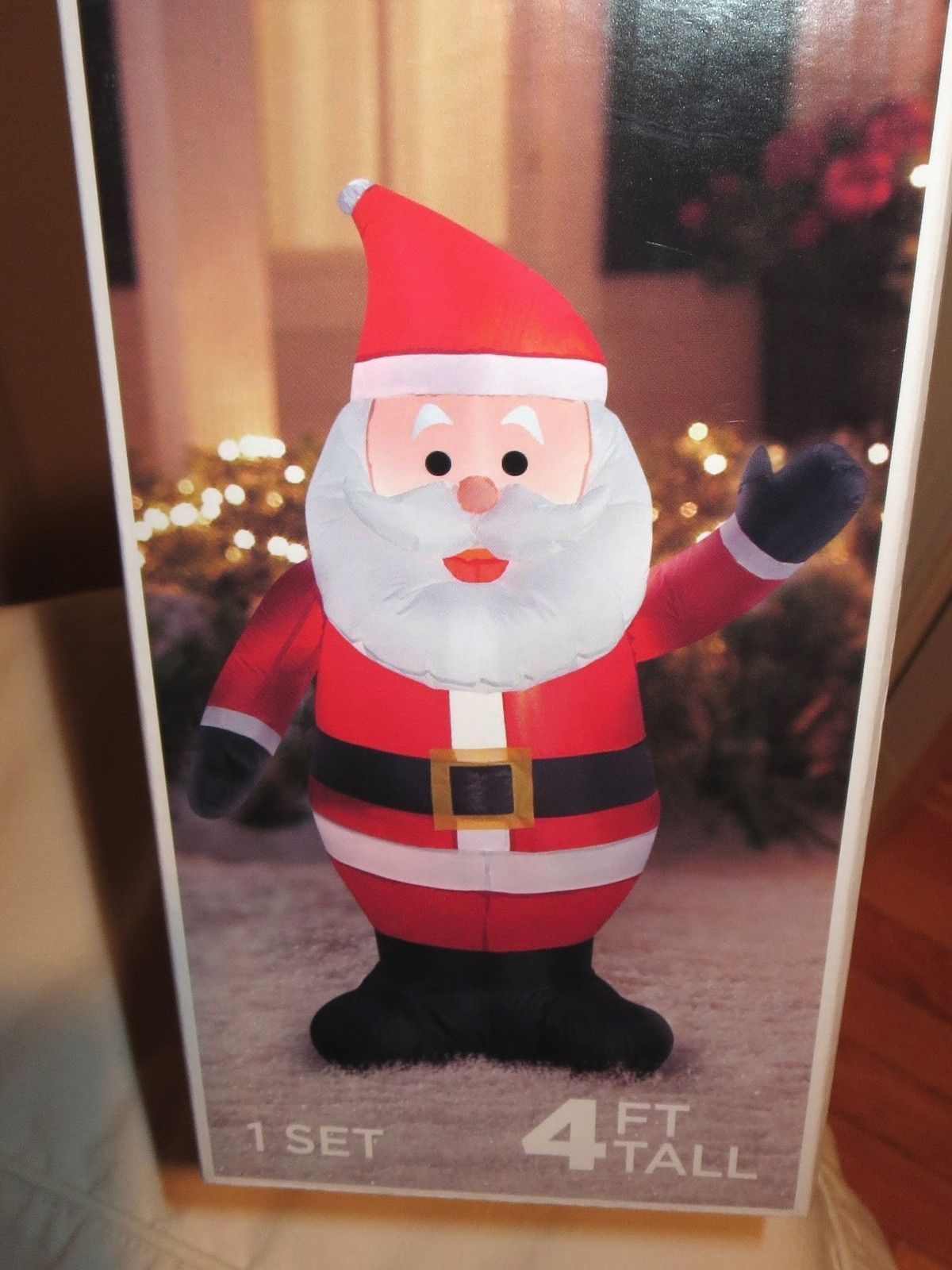 Airblown inflatable santa claus christmas yard decoration for Air blown decoration