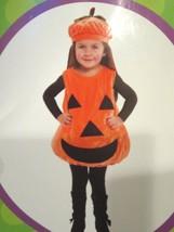 Baby Pumpkin Halloween Bubble Costume Plush NEW 2T - $29.59 CAD