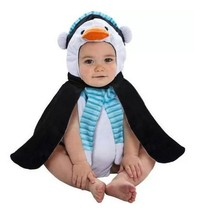 Christmas Baby PENGUIN Bubble Costume Plush NEW 0-9 Months - $29.81 CAD