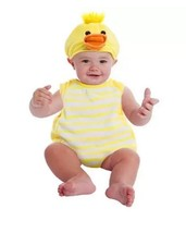 Baby DUCK Halloween Bubble Costume Plush NEW 0-9 Months - $24.30
