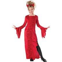 NEW RED DEVIL Dress HALLOWEEN COSTUME Large L 10-12 - $20.56