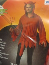Mens Devil Halloween Costume XL (40-42) NEW - £15.46 GBP