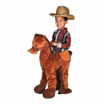 Brown Horse Rider Halloween Costume 3T/4T Plush - $41.14
