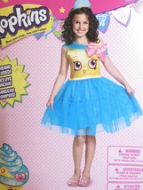 Shopkins Cupcake Queen Costume Girls Size S 4-6 Small Halloween Cosplay NEW - $42.03