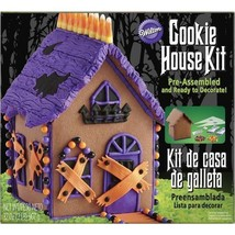Wilton Gingerbread HALLOWEEN HAUNTED HOUSE DECORATING KIT PreAssembled - £23.65 GBP