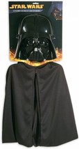 Star Wars Darth Vader Cape And Mask Set Episode VII The FORCE AWAKENS NEW - $19.62