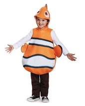 Toddler Deluxe NEMO One Size Costume Foam Tunic 4-6X - $36.47
