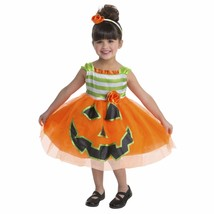Toddler Pumpkin Dress Halloween Costume 2T 3T 4T Gorgeous - $28.99
