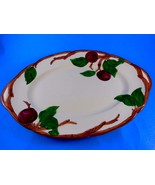"""Vintage Franciscan Apple Pattern Oval Shape Dish 1968 Made in U.S.A 8.5""""... - $17.81"""