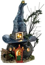 Department 56 Snow Village Halloween Toads And Frogs Witchcraft Haunt Lit - ₨5,069.09 INR