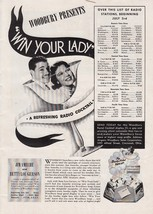 1938 Woodbury Soap Ad: Presents Win Your Lady J... - $7.87