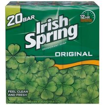 Irish Spring Deodorant Soap Original Scent - 20 ct - $16.95