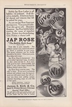 1909 James S Kirk & Co Chicago IL Ad: Jap Rose ... - $8.86