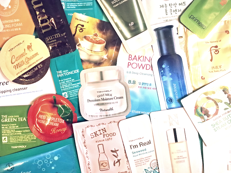Primary image for 160-Piece Korean Sample Beauty Box It's Skin Ohui Primera Re:NK Secret Key +More
