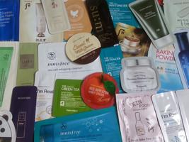 Beauty Skincare Samples K-Beauty Sampler + Single Sheet Mask Pack - $20.00