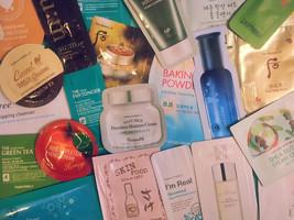 60-Piece Korean Skincare Samples Variety Pack - $64.00