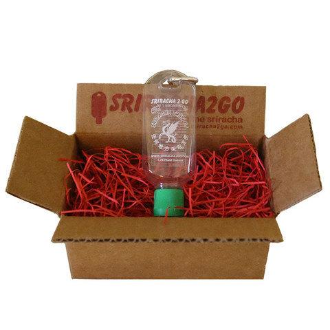 Sriracha 2 Go Keychain Refillable Bottle Sriracha Siracha Hot Sauce 1.69 oz.  - $14.00