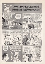 1940 Postum Coffee Comic-Strip Ad: Mr. Coffee N... - $7.87