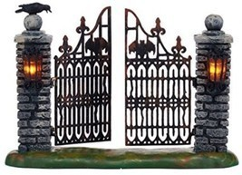 Department 56 Halloween Village Spooky Wrought Iron Gate Accessory, 4.53... - €39,15 EUR