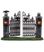 Department 56 Halloween Village Spooky Wrought Iron Gate Accessory, 4.53... - $44.42