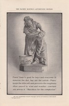 1907 Pears Soap Ad: You Dirty Boy Mother or Gra... - $8.86